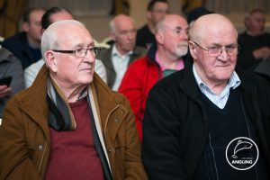 Long time club members Paul McManus and Liam Anderson at the AGM